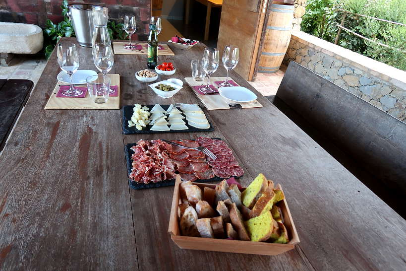 Tasting Catalan Wines at Eccocivi Winery by AuthenticFoodQuest