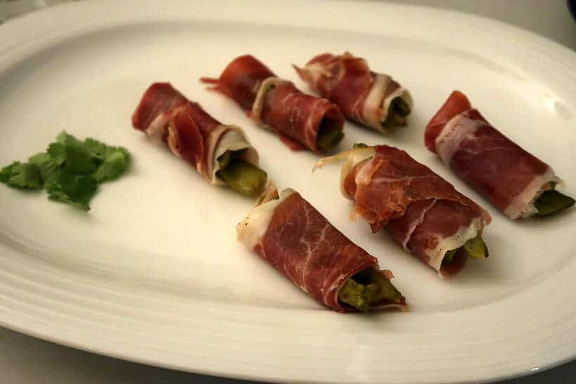 Antijotos de Serrano Ham and nopales Eat Like a Loca lMexico by AuthenticFoodQuest