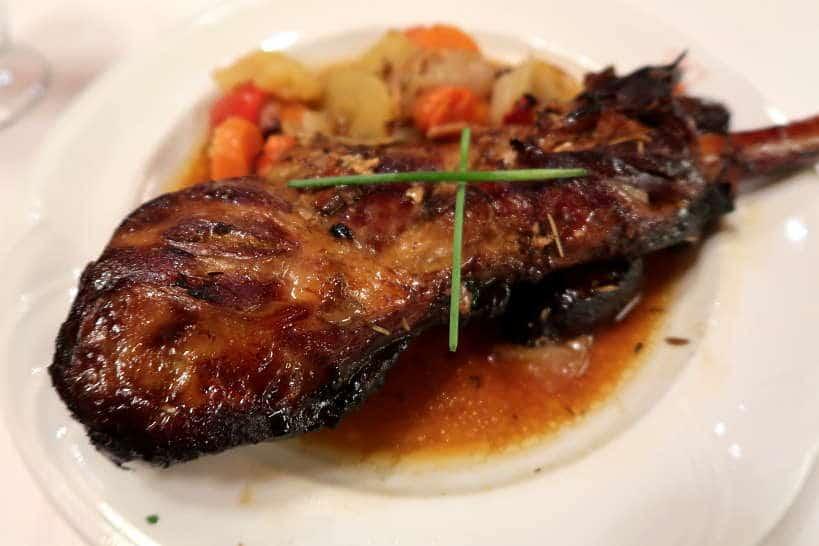 Catalan Roast Lamb Shoulder at Casa Marieta Restaurant by AuthenticFoodQuest