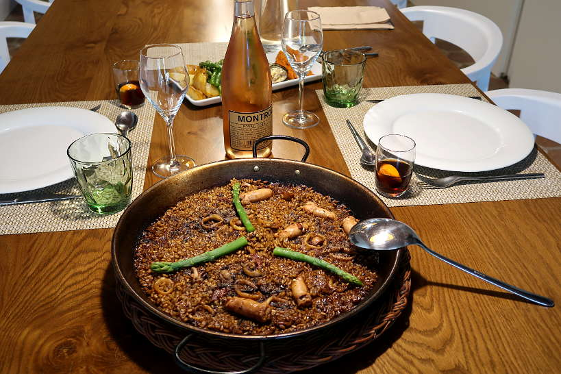 Catalan Paella Costa Brava Food by AuthenticFoodQuest