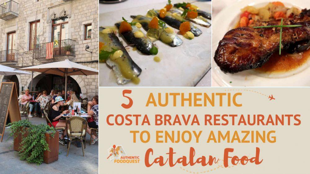 Costa Brava Restaurants by AuthenticFoodQuest