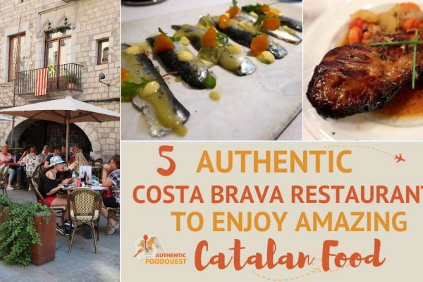 Costa Brava Restaurants by AuthenticFoodQuest
