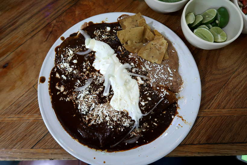 Enchiladas de Mole Colonia Roma Food Tour by AuthenticFoodQuest
