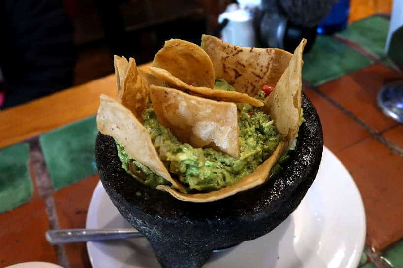Guacamole served on Secret Food Tours Mexico City by AuthenticFoodQuest
