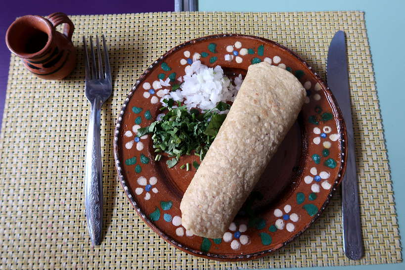 Tacos and Pulque drink on a Polanco Food Tour by AuthenticFoodQuest