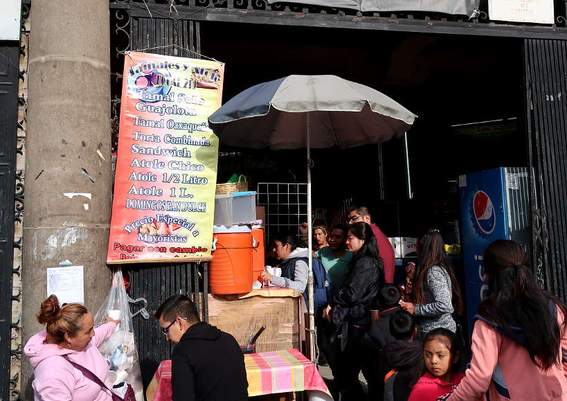 Atole Stand at Mercado Rodriguez by Authentic Food Quest