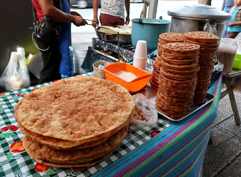 Buñuelos in Mexico City by Authentic Food Quest