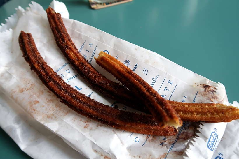Churros from El Moro popular Mexico City Food by AuthenticFoodQuest