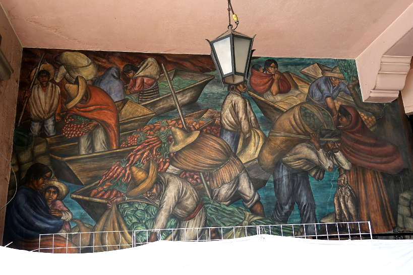 Diego Rivera Murals Abelardo L Rodriguez Market in Mexico City by AuthenticFoodQuest