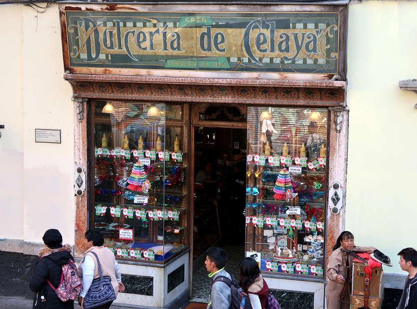 Dulceria de Celaya shop in Centro Historico by Authentic Food Quest