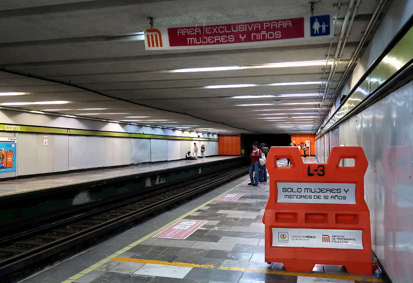 Metro Station in Mexico City by AuthenticFoodQuest