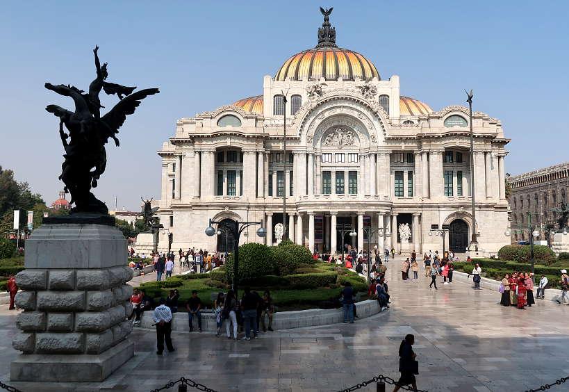Palacio de bellas artes by AuthenticFoodQuest