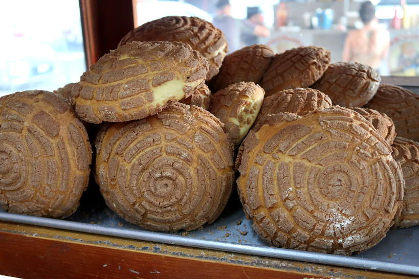 Pan Dulce Conchas Breakfast in Mexico City by AuthenticFoodQuest
