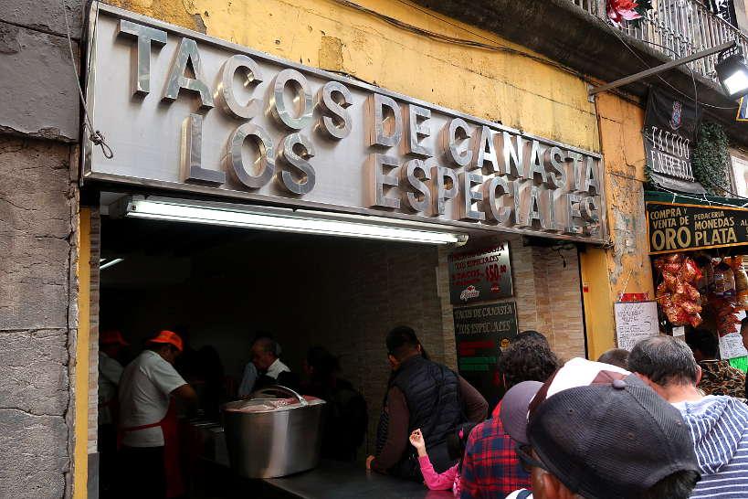 Tacos de Canasta Los Especiales famous Mexico City Tacos by AuthenticFoodQuest