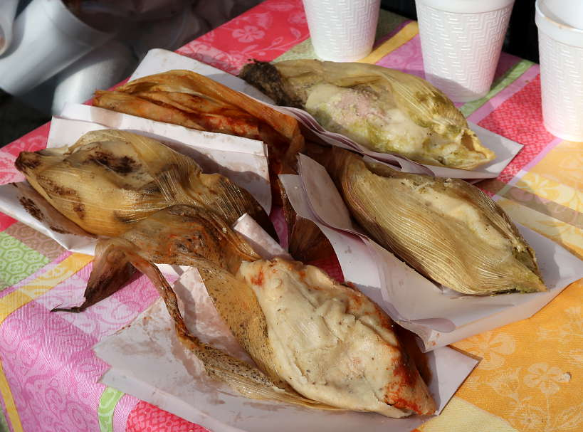 Tamales at Abelardo L Rodriguez Market in MexicoCity by AuthenticFoodQuest