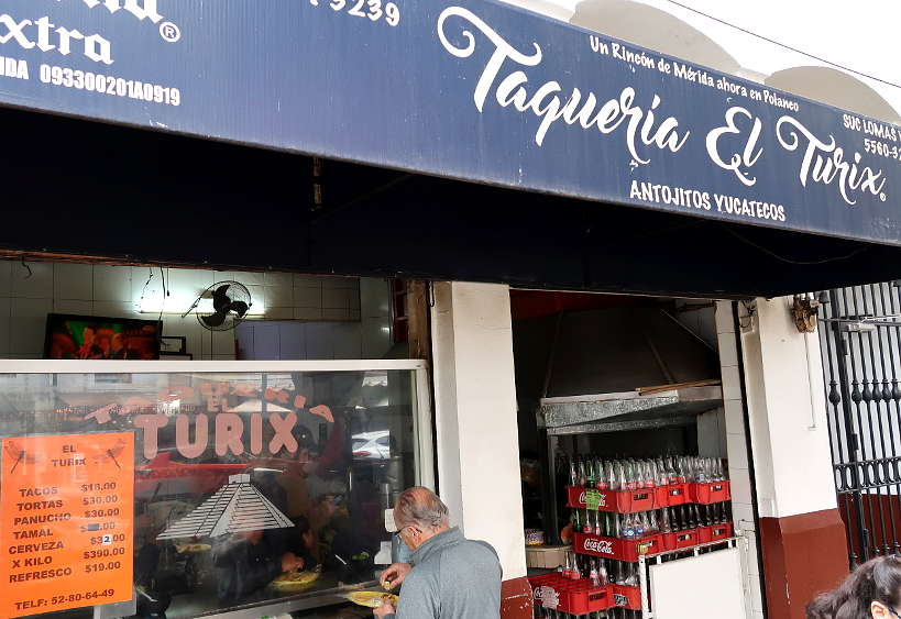 Taqueria El Turix for some of the Best Tacos in Mexico City by AuthenticFoodQuest