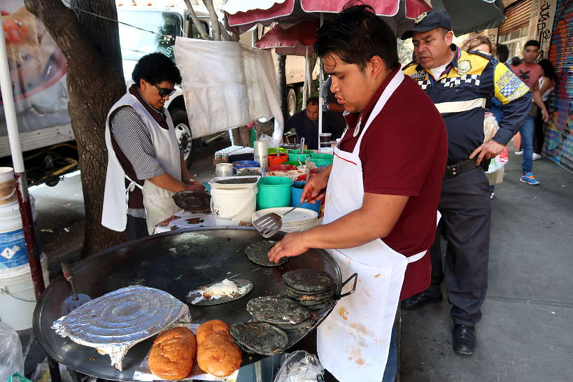 Tlacuyo Stand Popular food in Mexico City by AuthenticFoodQuest