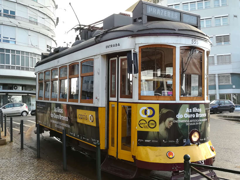 Tramway Start for Food Tours in Lisbon by Authentic Food Quest
