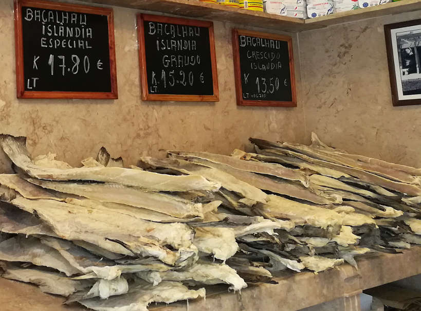 Dried Cod Fish or Bacalhau in Portugal by Authenticfoodquest