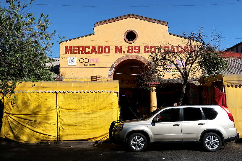 Mercado de Coyoacan Food Markets in Mexico City by Authentic Food Quest