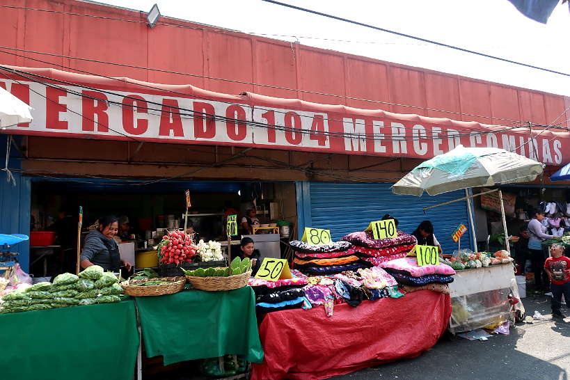 Mercado de La Merced one of the Best Markets in Mexico City by AuthenticFoodQuest