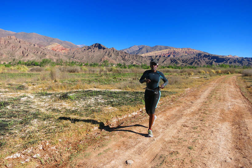 Rosemary Running in Argentina To Keep Sane by Authentic Food Quest