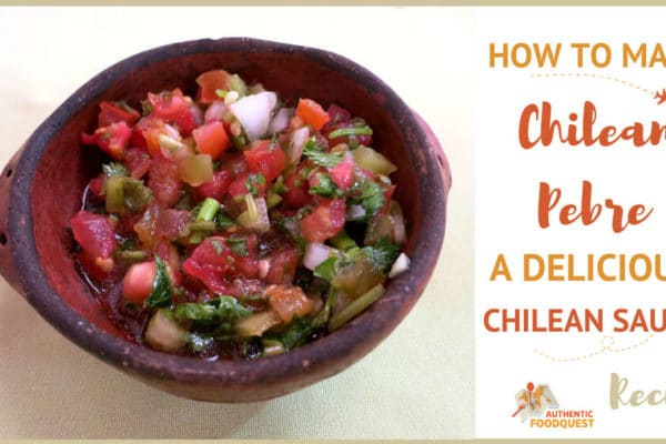 Chilean Pebre Recipe by AuthenticFoodQuest