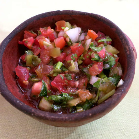 Chilean Pebre in Chile by AuthenticFoodQuest