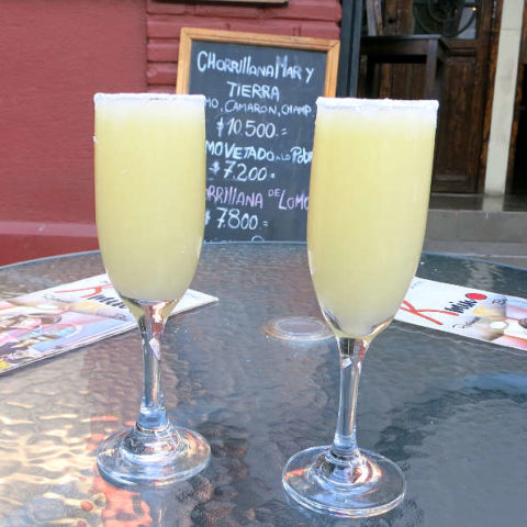Chilean Pisco Sour Cocktail in Santiago by AuthenticFoodQuest