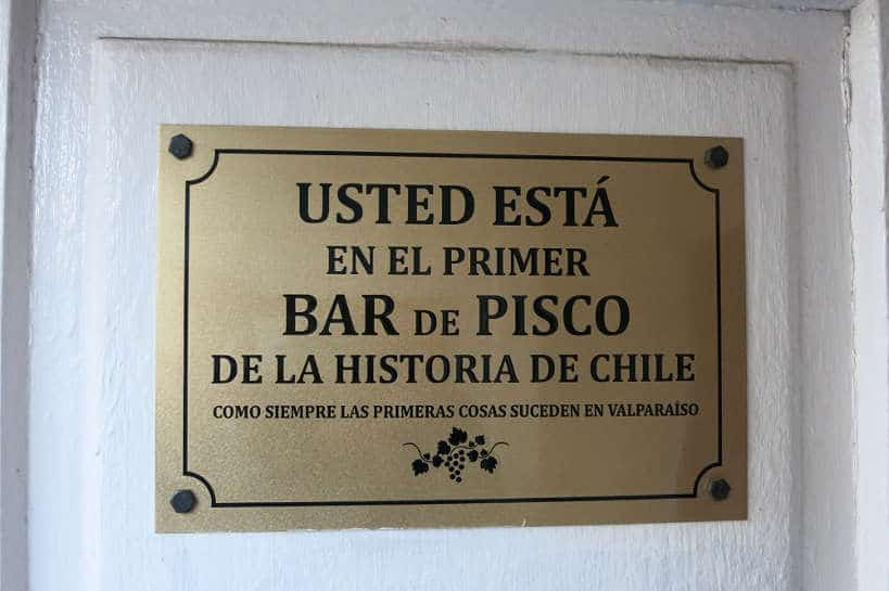 First Bar for Pisco Sour in Chile by AuthenticFoodQuest