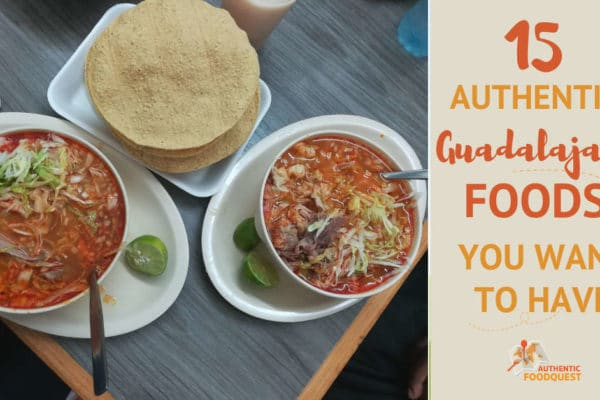 Pozole bowls one of the best Guadalajara Foods by AuthenticFoodQuest