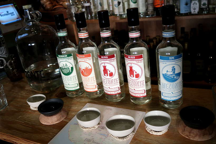 Mezcal and Tequila Tasting for unique Guadalajara beverages by Authentic Food Quest
