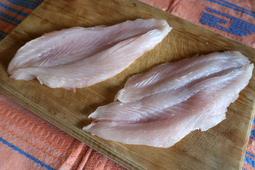 Robalo fillets for pan seared sea bass recipe by Authentic Food Quest