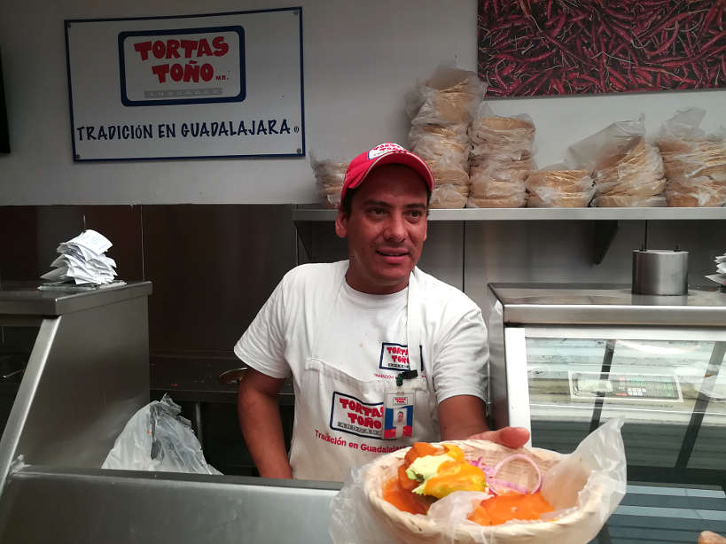 Tortas Tono one of the Best Restaurant in Guadalajara for tortas tono by authentic food quest