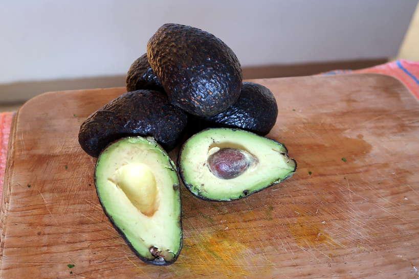 ripe avocado for guacamole recipe by Authentic Food Quest
