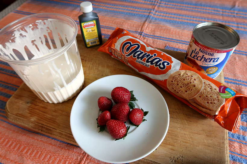 Ingredients for Sawdust Pudding by Authentic Food Quest