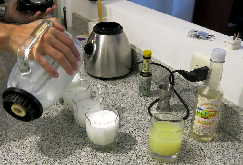 Pisco Sour Ingredients by Authentic Food Quest for Peruvian Pisco Sour Recipe