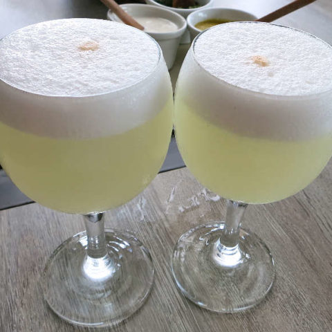 Pisco Sour Lima by Authentic Food Quest for Peruvian Pisco Sour Recipe
