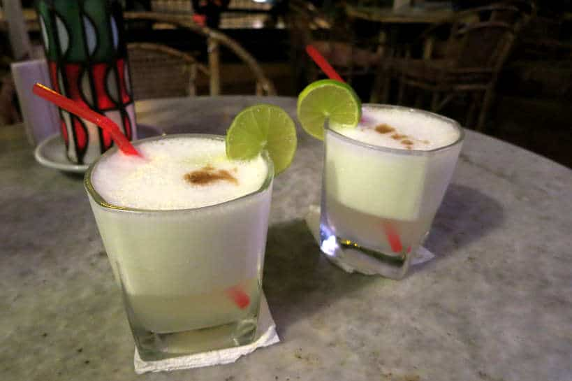 Pisco Sour in Lima by Authentic Food Quest for Peruvian Pisco Sour Recipe