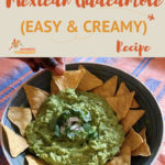 Absolutely divine Mexican guacamole