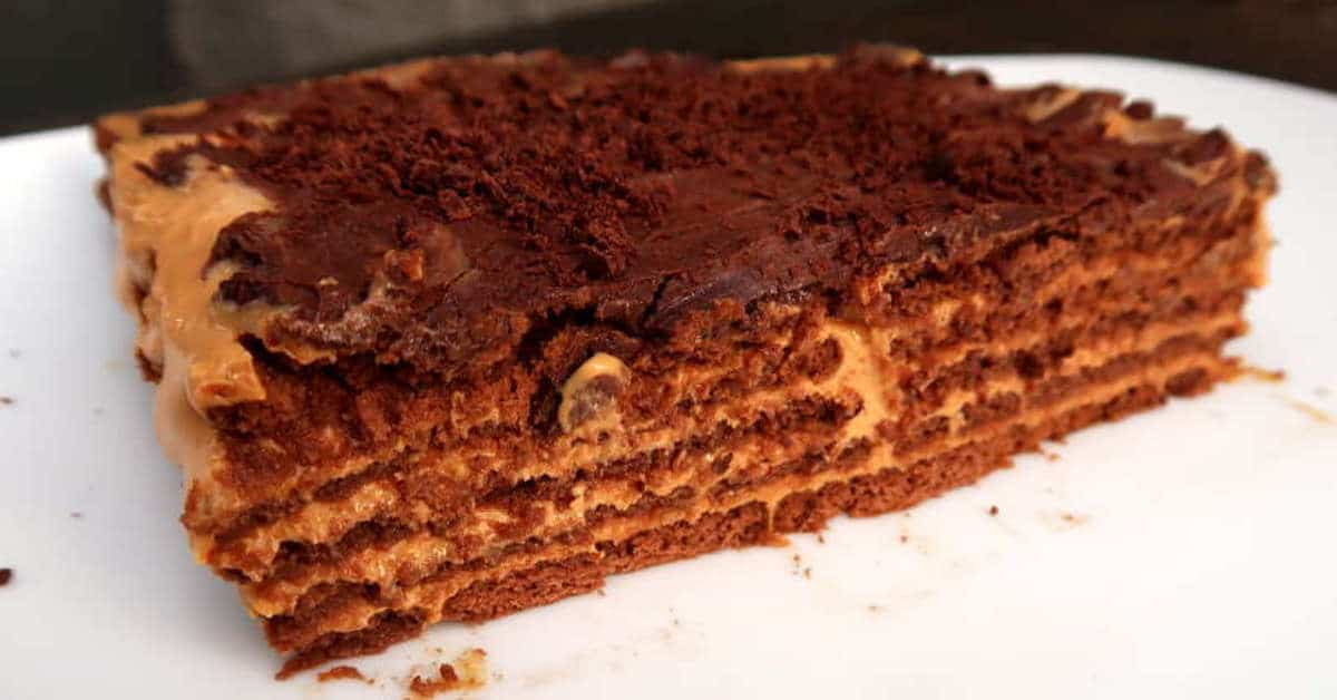 Featured Image of Chocotorta Argentina Recipe by Authentic Food Quest