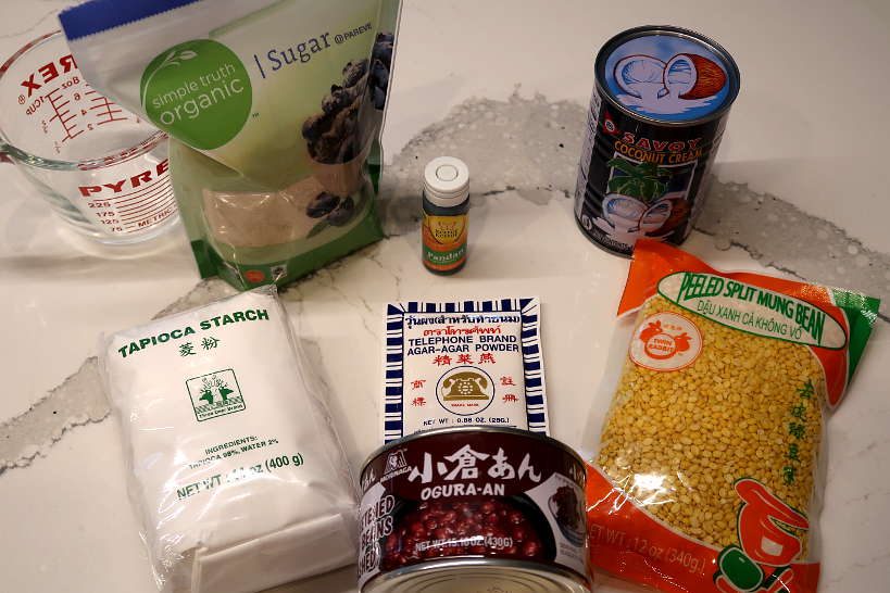 Che Ba Mau Recipe Ingredients by AuthenticFoodQuest