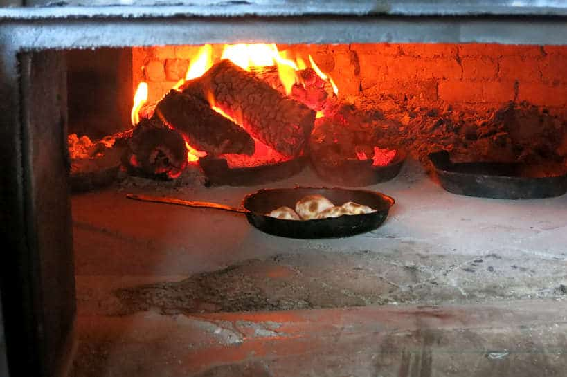 Empanadas in the Clay Oven Horno de Barro by Authentic Food Quest