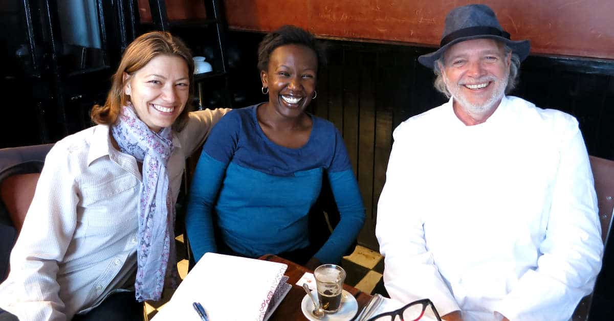 Claire and Rosemary at Patagonia Sur with Francis Mallmann by Authentic Food Quest