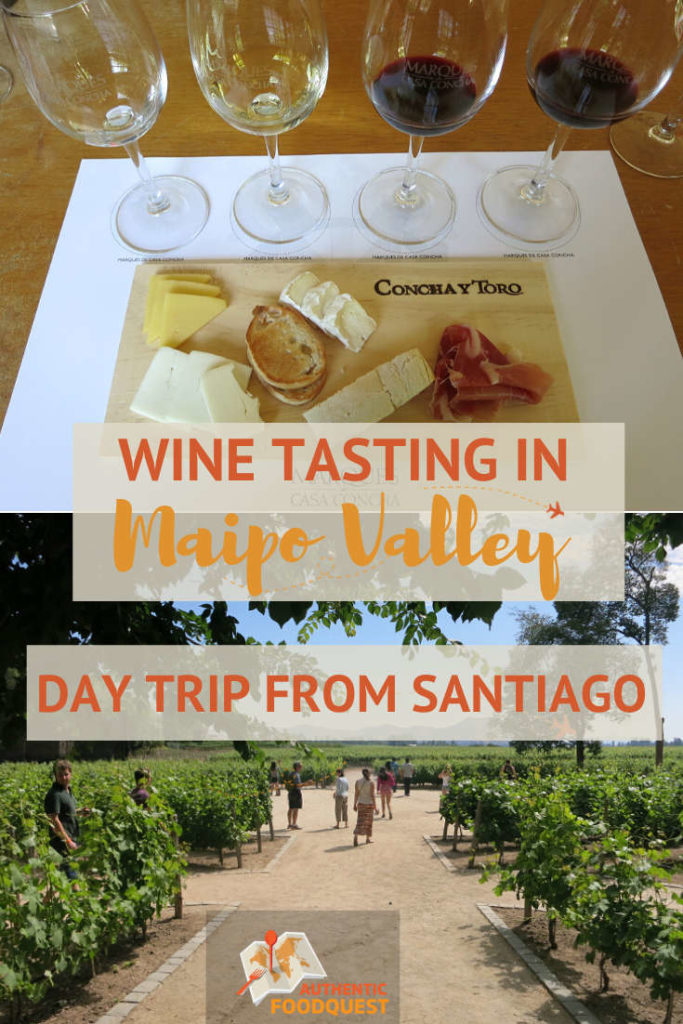 Pinterest Maipo Valley Wineries and Santiago Wine Tours by Authentic Food Quest