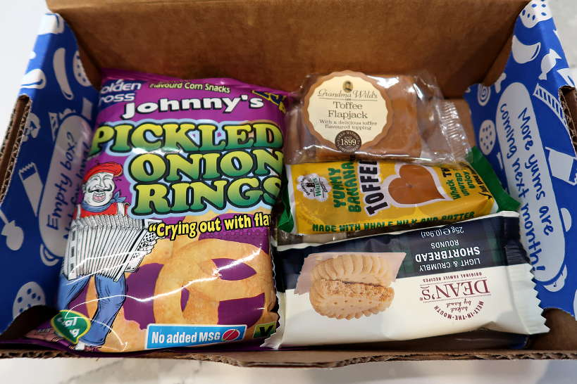 Snacks in the Universal Yums Box by Authentic Food Quest for Universal Yums Review