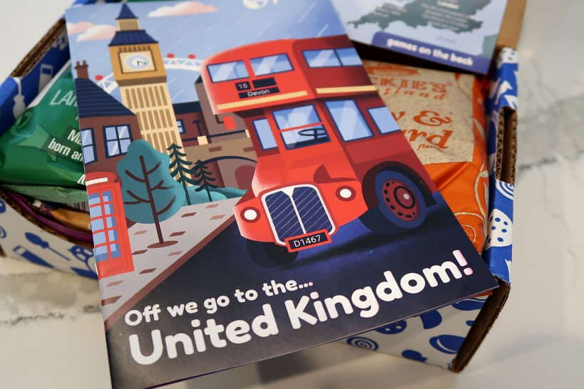 United Kingdom Booklet by Authentic Food Quest for Universal Yums Review