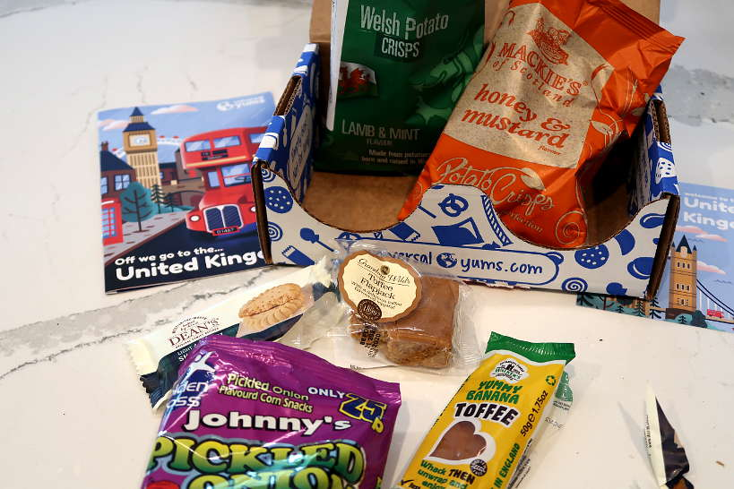 United Kingdom Snacks Yum Box Universal Yums Review by Authentic Food Quest