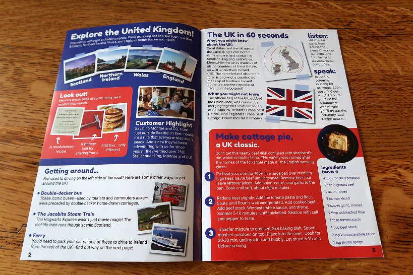 United Kingdom Universal Yums Review Trivia by Authentic Food quest for Universal Yums Review