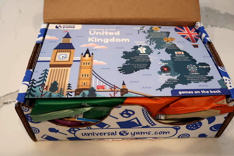 United Kingdom Yum Box for Universal Yums Review by Authentic Food Quest